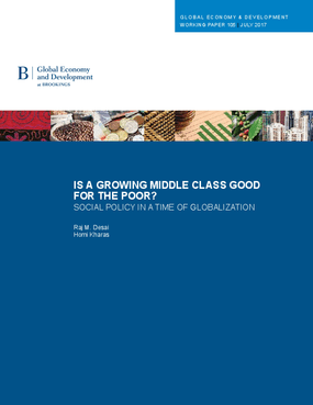 Is a Growing Middle Class Good for the Poor? Social Policy in a Time of Globalization