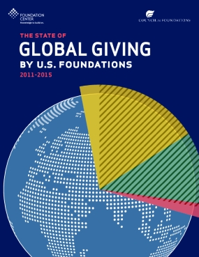 The State of Global Giving by U.S. Foundations, 2011-2015